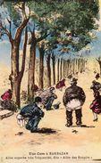 Cpa Une Cure à BARBAZAN, Humour Scatologique, ... Allée Des Soupirs (53.07) - Humour