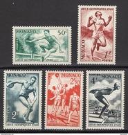 MONACO 1948 - SERIE Y.T.  N° 319 A 323 - 5 TP  NEUFS** B55 - Neufs