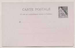 Diego Suarez - 10c Carte Postale H&G 1 - Diégo-suarez (1890-1898)