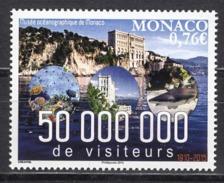 MONACO 2015 - Y.T. N° 2990 / 50 MILLIONS DE VISITEURS AU MUSÉE OCÉANOGRAPHIQUE - NEUF ** - Monaco