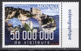 MONACO 2015 - Y.T. N° 2990 / 50 MILLIONS DE VISITEURS AU MUSÉE OCÉANOGRAPHIQUE - NEUF ** - Nuovi