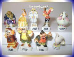 La Belle Et La Bête ... Série Complète De 8 + 1 Hors Série.. Ref AFF : 31-1998 ...(pan 0030) - Disney