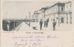 CPA ITALIE ITALIA TARANTO Corso Due Mari Timbre Stamp 1901 - Taranto