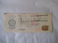 BOULOGNE SUR MER A. COPPIN ARMEMENTS MARITIMES ET SALAISONS CACHOUS DES INDES TRAITE DU 7 JAN 1924 - 1900 – 1949