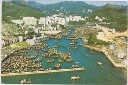 Asie,asia,chine,china,HONG KONG,VUE AERIENNE - Chine (Hong Kong)