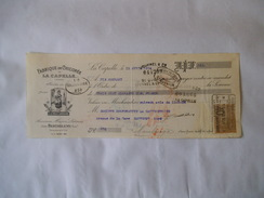 LA CAPELLE AISNE JEAN BARTHELEMY FABRIQUE DE CHICOREE A LA VRAIE LORRAINE TRAITE DU 15 AVRIL 1924 - Francia