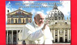 Nuovo - VATICANO - 2017 - Busta Filatelico-Numismatica - 1950° Anniversario Del Martirio Di San Pietro E San Paolo - Vaticano