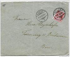I - 96 - Enveloppe Envoyée De Ragaz 1903 - Superbes Cachets à Date - 1882-1906 Armoiries, Helvetia Debout & UPU