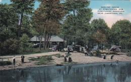 Pennsylvania Jamestown Shelter House At Pymatuning Dam 1944 - United States