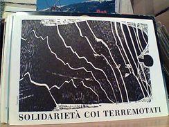 TERREMOTO BASILICATA SOLIDARIETÀ COI TERREMOTATI Di HAP GRIESHABER N1980 GH17197 - Disasters