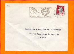 HAUTE SAVOIE, Annemasse, Flamme SCOTEM N° 591 - Marcophilie (Lettres)