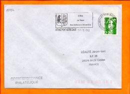 HAUTE SAVOIE, Arthaz Pont Notre Dame, Flamme SCOTEM N° 12152 - Oblitérations Mécaniques (flammes)