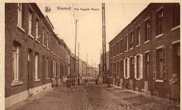 Cpa WASMUÊL, Rue Auguste Mouzin, Les Voisins Sont Sortis Pour La Photo (53.10) - Belgique