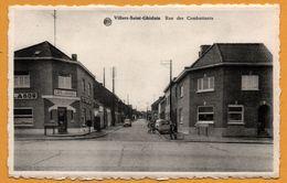 Villers Saint Ghislain - Rue Des Combattants - Café Du Garage - Bières LABOR - Citroën 2 CV - Edition L. CLETTE - ALBERT - België