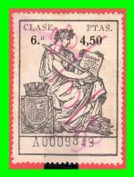 SELLO POLIZA DE LA CLASE 6 ª DE 4.50  Ptas:  SERIE  - A0009849   FECHA  28 / 3 / 1933 - 1931-Today: 2nd Rep - ... Juan Carlos I
