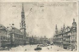 Brussel Bruxelles Brussels Vue Générale De La Grand Place - General View Of The Market Place P.I.B. -1931 - Squares