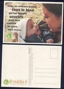Carte Postale Postcard Brindilles Nous Ne Saurons Jamais Tout Le Bien ... Mère Teresa - Publicidad