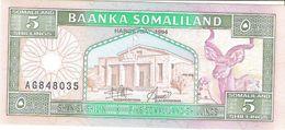 Somaliland - Pick 1 - 5 Shilin 1994 - Unc - Somalie
