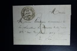 France : Letter 1839 St Milaire Du Harcourt To Paris - 1801-1848: Precursors XIX