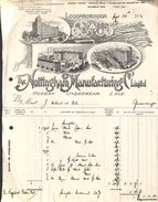 The Nottigham Manufacturing Co Ltd - Hosiery Underwear Lace (illustration, 1920, Quevaucamps) - Reino Unido