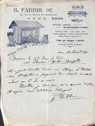 G Fabbri Roma - Tente, Equipement Colonial, Pour Le Jardin (illustration, 1913) - Italie