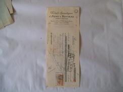 PARIS J. MERO & BOYVEAU PRODUITS AROMATIQUES USINE A GRASSE MAISON A PARIS 25 RUE DES ARCHIVES TRAITE DU 15 JANVIER 1934 - France
