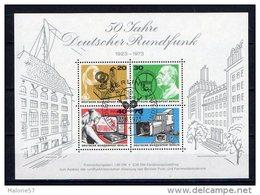 BLOC BERLIN OBLITERE 1973 Y&T : 4 - [5] Berlin