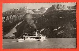 MIF-11  Brienzersee Mit Dampfer.  Gelaufen In 1947 - BE Bern