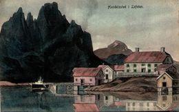 Norvège - Handelssted I Lofoten - Norway
