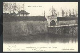 +++ CPA - ANTWERPEN - ANVERS En 1860 - Pont De Poterne - Actuellement Place Teniers  // - Antwerpen