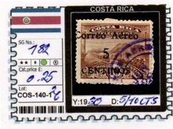 AMERICA: COSTA RICA-CLASSIC# SERIE(S) (COS 140-1 (26) - Costa Rica