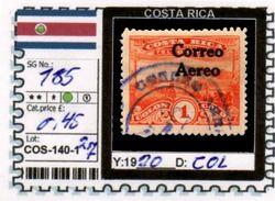 AMERICA: COSTA RICA-CLASSIC# SERIE(S) (COS 140-1 (27) - Costa Rica
