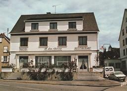 """CP  67  NIEDERBRONN  LES  BAINS  Restaurant -hotel  """" A  LA  ROSE """"  ( Gros  Plan ) - Niederbronn Les Bains"""