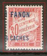 """Taxe N°2*_variété Surcharge Déplacée """"1"""" à Cheval_ - India (1892-1954)"""