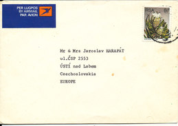 South Africa RSA Cover Sent Air Mail To Czechoslovakia 13-11-1980 Single Franked - Covers & Documents