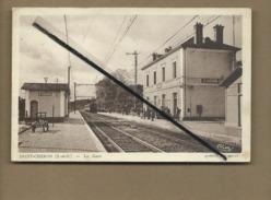 CPA  - Saint Chéron -(S.-et-O.) - La Gare - Saint Cheron
