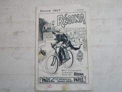 """""""REGINA"""" . Bicyclettes & Motocyclettes . PAGIS & Cie 27, Avenue De La Grande Armée à PARIS (8 Pages Toutes Représentées) - Publicités"""