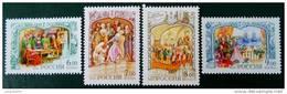 CATHERINE II DE RUSSIE 2004 - NEUFS ** - YT 6798/01 - MI 1167/70 - Neufs
