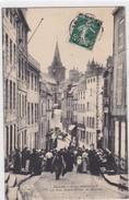 Granville - La Rue Notre-Dame - Le Marché - Granville