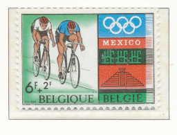 D- [1459] Belgique 1968, Cyclisme, SNC - Ciclismo