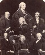 Méthodisme Theologiens Photomontage Fletcher Wesley Bunting Ancienne Photo 1870 - Photographs