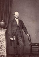 Londres Homme Anglais Mode Victorienne Ancienne CDV Photo Jones 1860's - Photographs