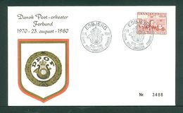 Denmark. Cover 1980. Post March Band 1970-1980. 1.30 Kr. Copenhag. Central Post. - Unclassified