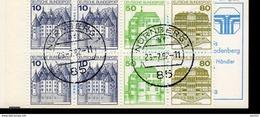 Markenheftchen Bund Gestempelt  MH 24 A Stempel Nürnberg - [7] Repubblica Federale