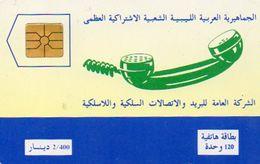 TELECARTE LIBYE *120  Phone - Libya