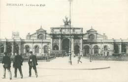BRUXELLES - La Gare Du Midi - Chemins De Fer, Gares