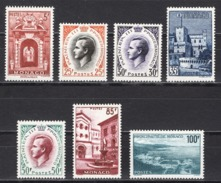 MONACO 1959 SERIE  N° 503 A 509  NEUF** /2 - Monaco
