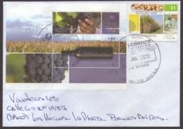 Argentina - 3 Lettre Avec Le Thème Des Vins Et Du Tourisme - Briefe U. Dokumente