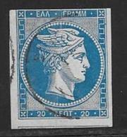 Greece, Scott # 36 Used Hermes, 1870, CV24.00 - 1861-86 Large Hermes Heads