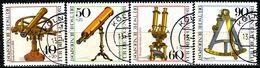 BRD - Michel 1090 / 1093 - OO Gestempelt (C) - Optische Instrumente, Jugend 81 - [7] Repubblica Federale